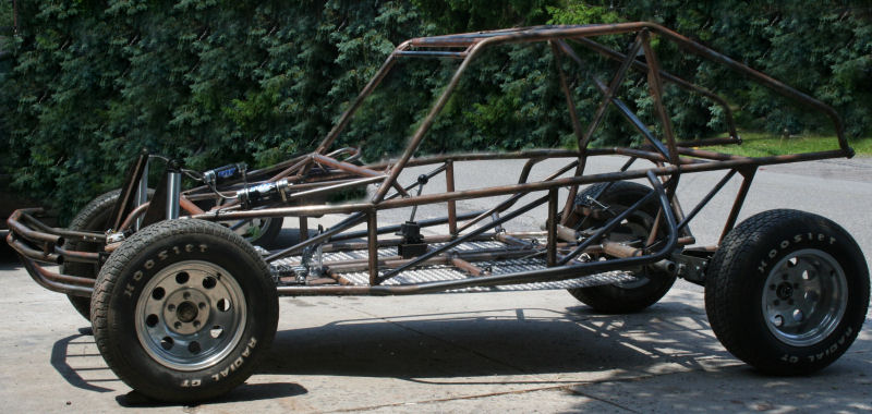 how to build a tube frame dune buggy