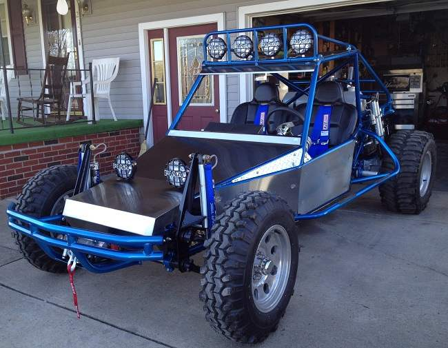 2 seat off road dune buggy chassis