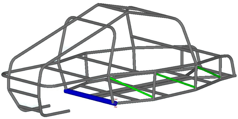 THE JACKLE 2 Seat Off-Road Dune Buggy - Round Roof - 98\