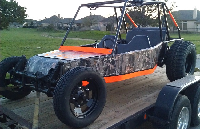 2 Seat Off-Road Dune Buggy Chassis