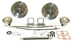 EMPI 22-2928 - WIDE REAR DISC BRAKE KIT W/ E-BRAKE, 5/205 - SWING AXLE 58-67