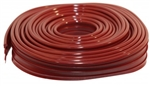 AC8986737 - FENDER / WING BEADING - RUBY RED - 8 METER UNCUT - SSP PRODUCT - BEETLE 1950-1979