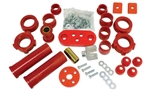 BUG PACK B222003 - URETHANE TOTAL SUSPENION REBUILD KIT, VOLKSWAGEN, TYPE 1, 1973-77 STANDARD BEETLE, RED