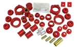 BUG PACK B222004 - URETHANE TOTAL SUSPENION REBUILD KIT, VOLKSWAGEN, TYPE 1, 1971-79 SUPER BEETLE, RED