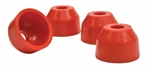 B557521 - Urethane Tie Rod Boots, Stock VW, (4), Red