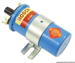 BOSCH BLUE IGNITION COIL W/ BRACKET 12 VOLT - PRIMARY 3.4 OHMS SECONDARY 7.8 OHMS