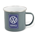VW SERVICE - ENAMEL MUG - 500ML - 16.9 OZ