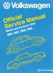 VW BENTLEY MANUAL - BEETLE & KARMANN GHIA 1966-1969 - HARD COVER