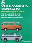 EMPI 11-0975 - VW TECH BOOKS VANAGON, 80-91