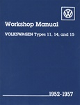 EMPI 11-1011 - VW TECH BOOKS TYPE1, 52-57