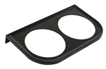 "EMPI 14-1010 - METAL MOUNT BRACKET BLACK, 2 1/16"", 2 HOLE"
