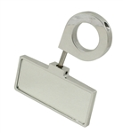 "EMPI 16-2047 - RECTANGULAR - REAR VIEW MIRROR -  2' X 5"" MIRROR - END PIN CLAMP ON MIRROR FOR 1 1/2"" TUBING"