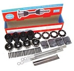 "930 AXLE KIT - 19 1/4"" WITH 28 SPLINE AXLES - CHROMOLY IRS AXLES"