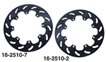 "EMPI 16-2510-2 - 11 1/4"" VENTED BRAKE ROTOR - LEFT - RACE-TRIM MICRO STUB BRAKE KIT"