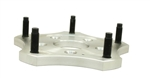 EMPI 16-2510-4 ALUMINUM 6061-T6 WHEEL ADAPTER - EACH - RACE-TRIM MICRO STUB DISC BRAKE KIT