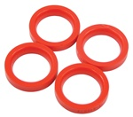 EMPI 16-5138 - Urethane Axle Beam Tube Seals - T1 w/ King & Link Pin - 4 pcs.
