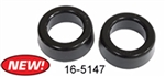 "EMPI 16-5147 - URETHANE SMOOTH/ROUND BUSHINGS - 2"" / 2 1/8"" I.D. (BLACK), PAIR"