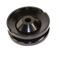 BILLET ALTERNATOR / GENERATOR PULLEY, BLACK