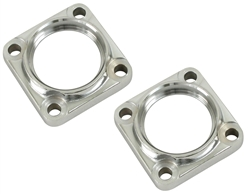 EMPI 17-2699 - CHROME IRS BEARING CAPS - PAIR - T1 BUG 1969-1979 - 1968 IRS ONLY