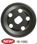 EMPI 18-1082 - BLACK ALT/GEN PULLEY, OUTER HALF ONLY