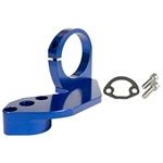 EMPI 18-1089 - BILLET COMBO FUEL PUMP BLOCK-OFF / COIL MOUNT, BLUE