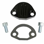 EMPI 18-1091 - BILLET FUEL PUMP BLOCK-OFF W/HARDWARE, BLACK