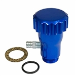EMPI 18-1098 - BILLET BLUE ALUMINUM OIL FILLER W/ CAP