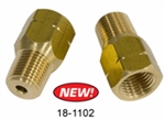 EMPI 18-1102 - CONVERSION BRAKE FITTING 1/8 NPT X 10MM FLAIR, PAIR