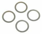 "EMPI 21-2168 - ROCKER SHAFT SHIMS ONLY, .010"" THICKNESS, SET OF 8"