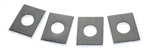 Rocker Arm Shim Kit - 12 pcs. Includes 4 pcs. Of each .015,.030,.060