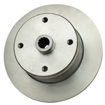 EMPI 22-2842-B - REPL. REAR BRAKE ROTOR, 4/130, SWING AXLE, THRU 68, SHORT SPLINE, EACH CAN ALSO BE USED FOR I.R.S. 68-ON, REQUIRES P/N: 22-5281-7 SPACER FOR I.R.S. APPLICATION
