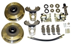 EMPI 22-2880 - ZERO OFF-SET FRONT DISC BRAKE KIT - LINK PIN - 5 LUG 5X205 - UPTO 1965 W/ SINGLE MASTER CYLINDER