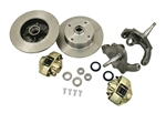 EMPI 22-2887 - DROP SPINDLE FRONT DISC BRAKE KIT - BALL JOINT - ROTORS DOUBLE DRILLED - 5X130 WITH 14X1.5MM THREADS & 5X4.75 WITH 12MM THREADS