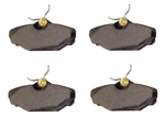 EMPI 22-2891 - REPLACEMENT BRAKE PADS, SET OF 4 FOR P/N: 22-6123-B, 22-6124-B CALIPERS