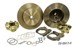 EMPI 22-2917-F - DELUXE HEAVY DUTY REAR DISC BRAKE KIT WITHOUT EMERGENCY BRAKE - ROTORS BLANK - IRS 1968 & LATER ; SWING AXLE 68 ONLY