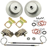 EMPI 22-2920- REAR DISC BRAKE KIT WITH E-BRAKE - BLANK - I.R.S. 73-79