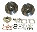 EMPI 22-2929 - WIDE TRACK REAR DISC BRAKE KIT 5X205 WITHOUT E-BRAKE - IRS 1968-1972 - SWING AXLE 1968