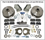 EMPI 22-2935 - FRONT BUS T2 DISC BRAKE KIT 1955-1963