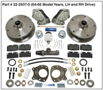 EMPI 22-2937 - FRONT BUS T2 DISC BRAKE KIT 1964-1966