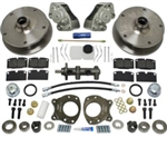 EMPI 22-2940 - COMPLETE FRONT DISC BRAKE CONVERSION KIT - T2 BUS 68-70 - DESIGNED FOR STOCK SPINDLES ONLY - SOLD COMPLETE KIT WITH MASTER CYLINDER