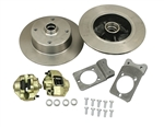 EMPI 22-2985 - BALL JOINT BOLT ON DISC BRAKE KIT - ROTORS DOUBLE DRILLED - 5X130 WITH 14X1.5MM THREADS & 5X4.75 WITH 12MM THREADS