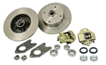 EMPI 22-2991 - LINK PIN BOLT ON DISC BRAKE KIT - BLANK ROTORS