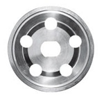 Billet Aluminum Alt/Gen Pulley - Outer Half Only