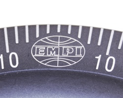 EMPI 33-1060 - Laser Pulley - Stock Diameter - Machine-In Installation - Black Anodized