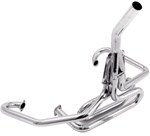 EMPI 3458 - Competition Exhaust - 1 1/2- w/ Straight Stinger - Chrome