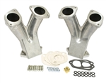 EMPI 43-1031 - GTV-2 STAGE 1 MATCH PORTED TALL MANIFOLD KIT FOR 48/51 EPC / IDA CARBURETORS - PAIR