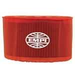 "EMPI 43-6112 - EMPI PRE-FILTER OVAL, 4 1/2"" X 7"" X 6"", RED"