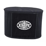 "EMPI 43-6113 - EMPI PRE-FILTER OVAL, 4 1/2"" X 7"" X 6"", BLACK"