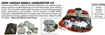 EMPI 47-0645 - EMPI 38 EGAS SINGLE CARBURETOR KIT - T2 1972^ & T4