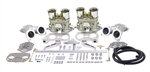 EMPI 47-6317 - EMPI DUAL 40 HPMX CARBURETOR KIT WITH HEXBAR LINKAGE WITHOUT AIR CLEANERS